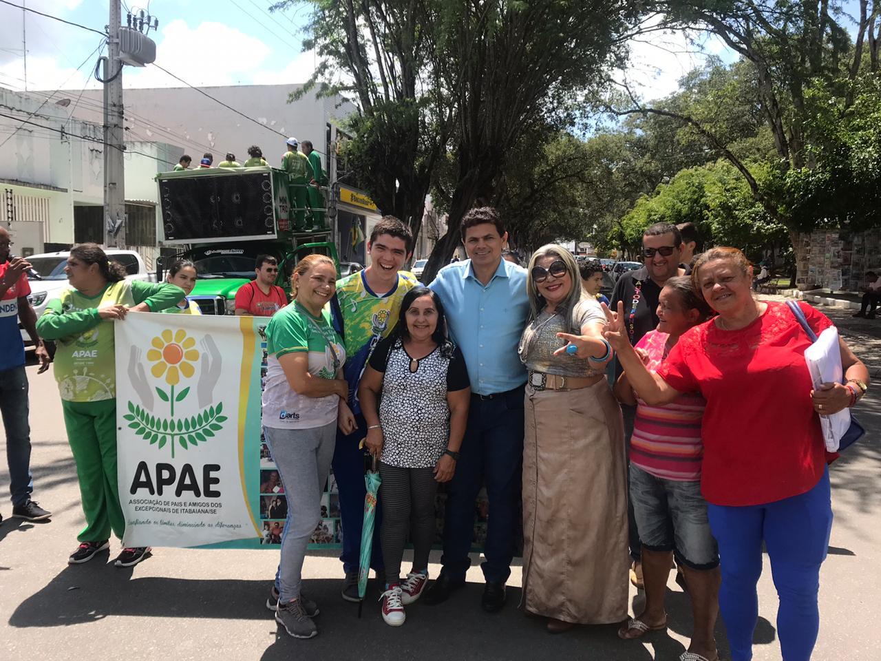 APAE de Itabaiana agradece ao prefeito Valmir de Francisquinho por doação de terreno.